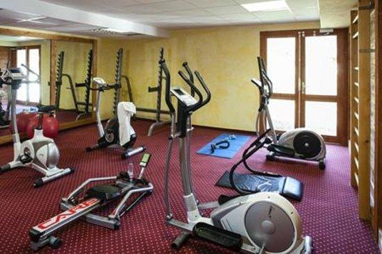 Résidence La Turra : Salle de fitness