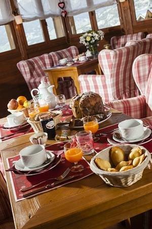 Résidence La Turra : Petit déjeuner