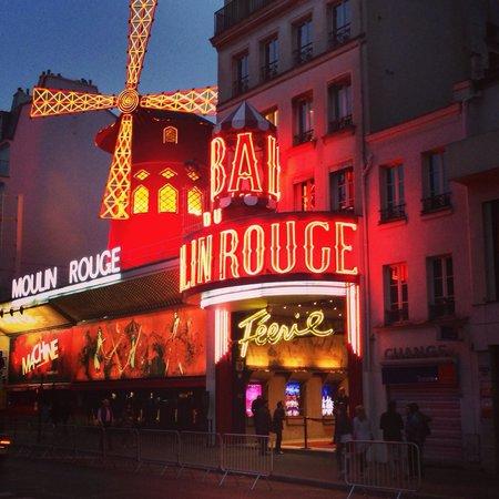 Loft Paris : Links daneben ist der Eingang