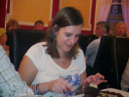 Asia Restaurant: The birthday girl