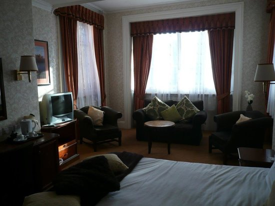 North Stafford Hotel: The room