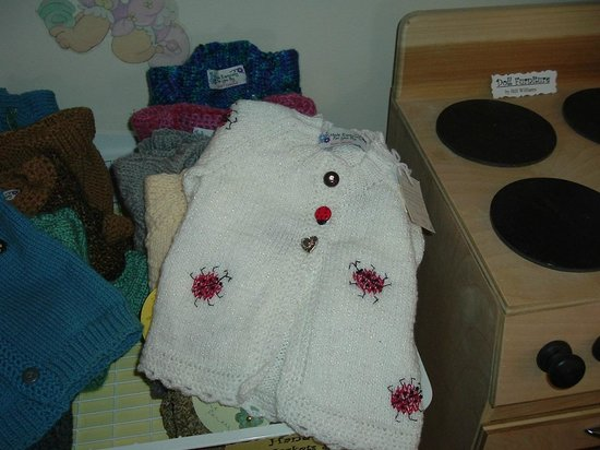 Sweet Pea's Children's Shop : Hand Made Knit Sweaters!