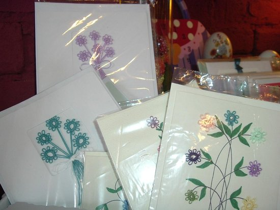 Sweet Pea's Children's Shop : Hand Made Tatted Cards!