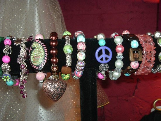 Sweet Pea's Children's Shop : Hand Made Bracelets for Ladies in our Ladies Gift Area!