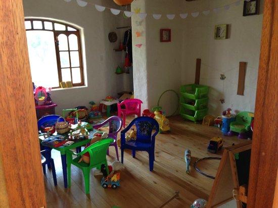 Juegos De Baño Quito:Mu Lala Coffee Shop & Brunch: Sala de juegos de niños