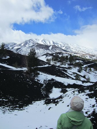 Etna Experience Excursions: View of Etna summit
