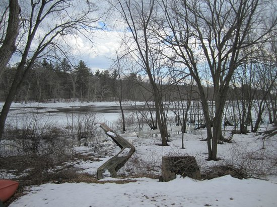 Concord River: River view from Billerica residence