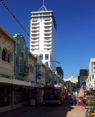 Rendezvous Hotel Christchurch: The view from New Regent Street