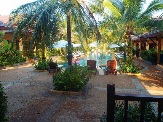 Le Piman Resort: vue de la terasse