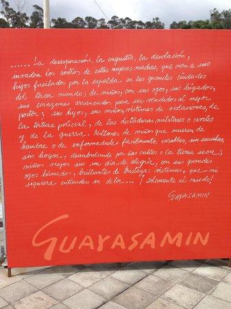 La Capilla Del Hombre : Mensaje de Guayasamín