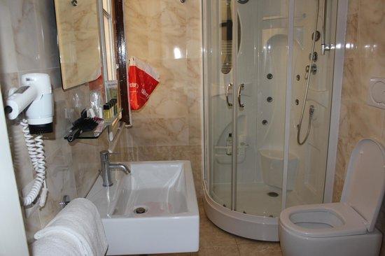 Hotel Bretagna : Baño Habitación