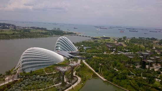 Marina Bay Sands: Sunrise reveals such an incredible view