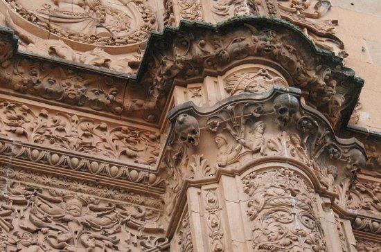 La Rana de Salamanca: Dónde está la rana?