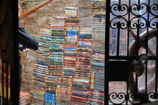 Libreria Acqua Alta: The encyclopedia stairs