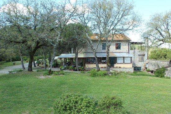 Villa di Capovento: Zona desayunos