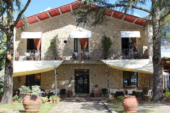 Villa di Capovento: Facha Principal