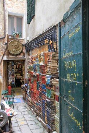 Libreria Acqua Alta: Don't miss this place