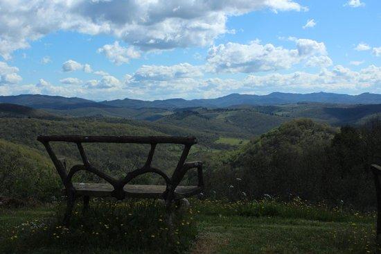 Villa di Capovento: Vistas al valle