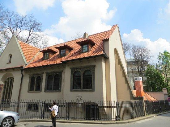 Pinkas Synagogue, Jewish Museum in Prague: the synagogue