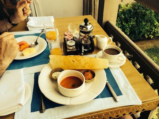 Fairmont Jaipur: Breakfast Dosa