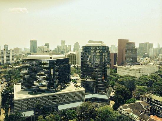 Conrad Bangkok Hotel: View from hotel room