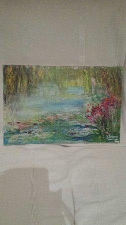 Église Sainte-Radegonde de Giverny : J'ai craqué lors de mon passage à la galerie Letoliacha !