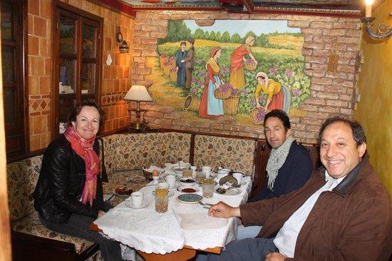 Hotel Sirince Evleri: petit déjeuner avec ameht