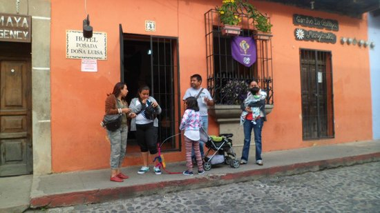Hotel Posada Dona Luisa: entrada del hotel