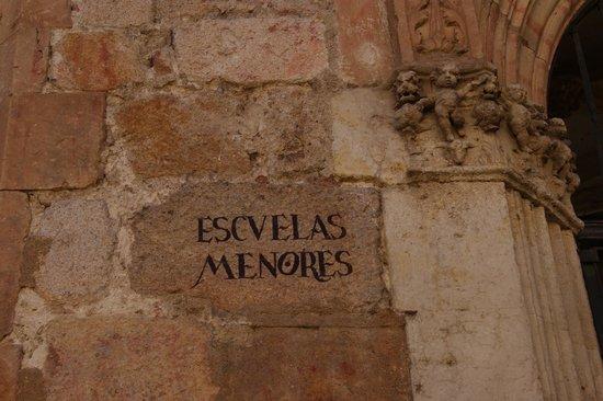 """Escuelas Menores: """"grafitti"""" salmantino"""