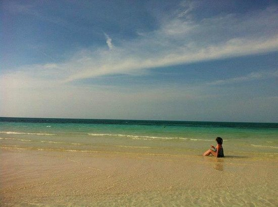 Hotel Playa Coco : Me on the beach at Playa Coco, Cuba!