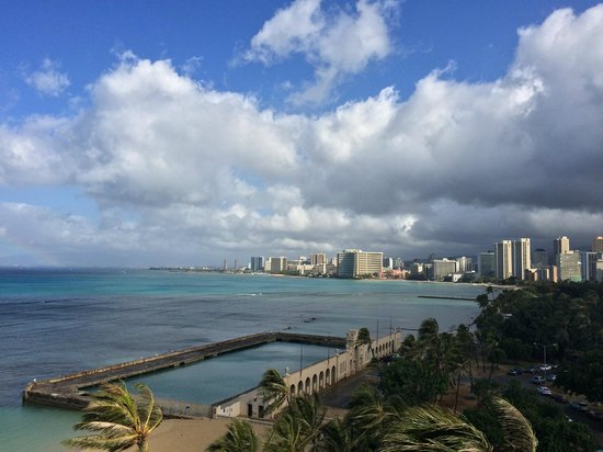 The New Otani Kaimana Beach Hotel: from the balcony