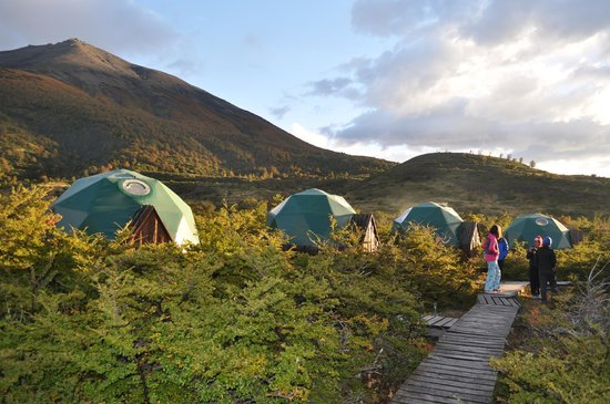 Ecocamp Patagonia : View of Ecocamp