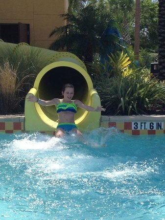 Fantasy World Club Villas: Waterslide fun