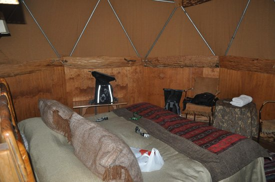 Ecocamp Patagonia : Our room
