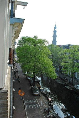Hotel van Onna: Our view from the room