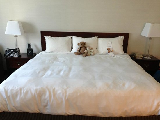 Radisson Admiral Toronto Harbourfront: King size bed