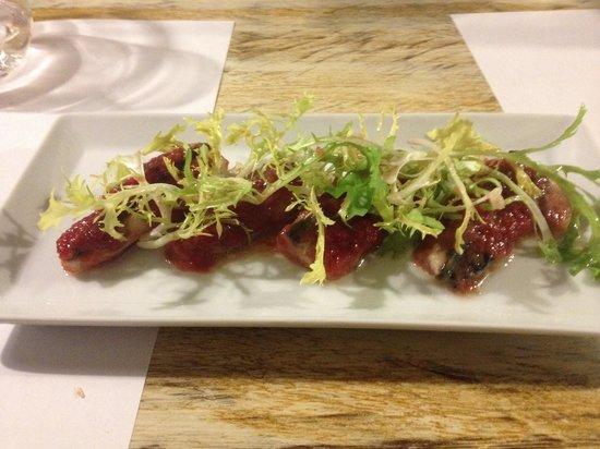 Bambarol: 24th April 2014, strawberry mackerel