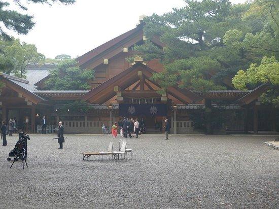 Atsuta Shrine, Nagoya, Japan - Picture of Atsuta Jingu ...