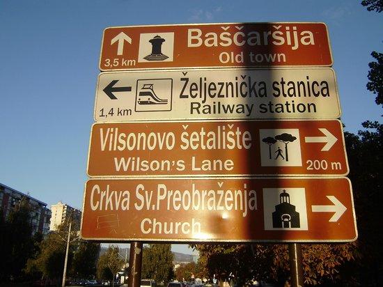 Hotel Bristol Sarajevo: Cidade Velha
