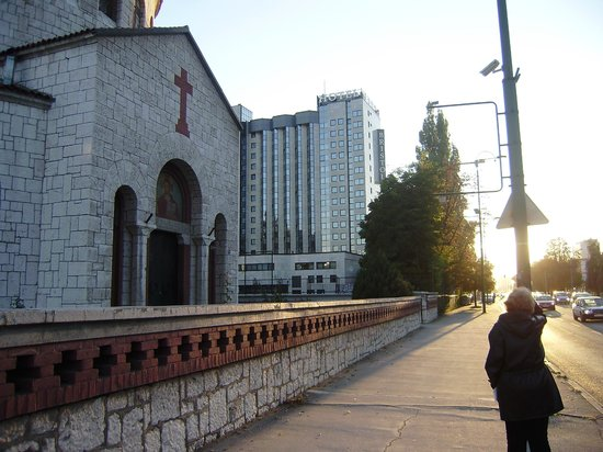 Hotel Bristol Sarajevo: Vista do Hotel