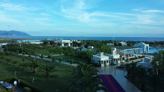 Hilton Dalaman Sarıgerme Resort & Spa: View from the roof bar - Bar Rouge.