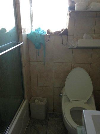 Beacon Hotel : tiny bathroom! like a boat cabin!