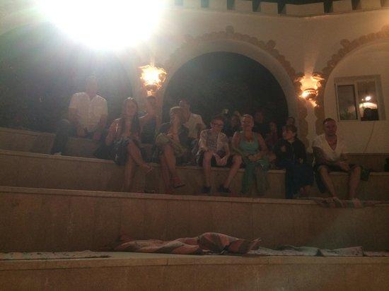 Tiran Island Hotel: Amphitheater