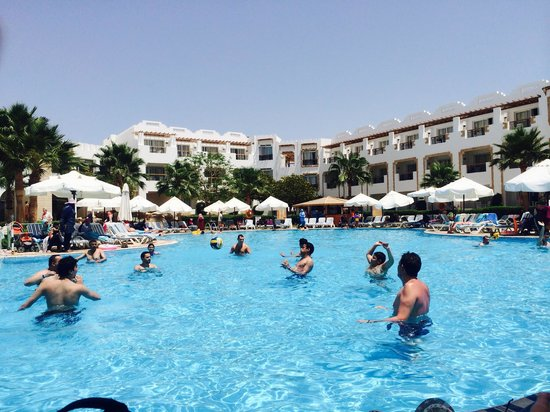 Tiran Island Hotel: Pool games with no language barriers :-)