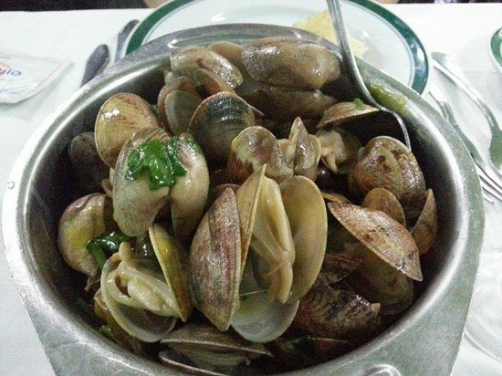 "Restaurante Cervejaria Pinoquio : ameijoa a bolhao pato"" des palourdes, ail, vin blanc et coriandre 2"