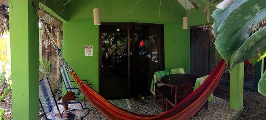 La Posada Private Jungle Bungalows: View of our patio