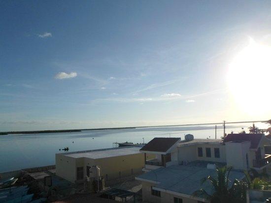 Hotel San Felipe: Vista de parte del puerto, desde el mirador del hotel