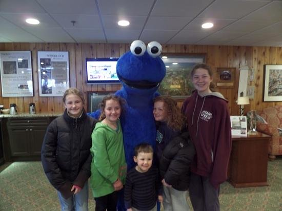 Woodloch Pines Resort: The kids and a familiar face.