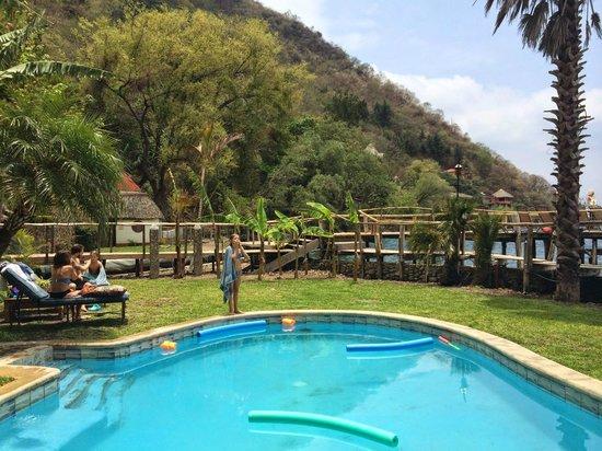 Villa Sumaya: Pileta climatizada