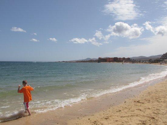 Club Caleta Dorada: The beach